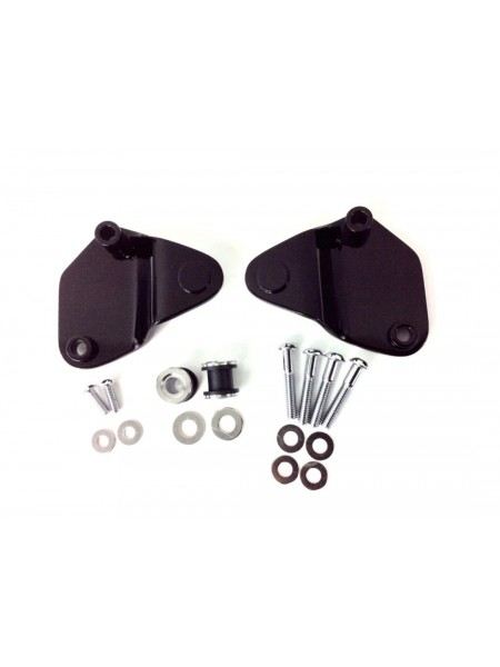 2-Point Docking Hardware Kit '09-'13 Gloss Black