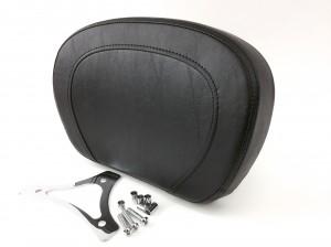 Top-Stitch Passenger Backrest Pad with Mounting Bracket