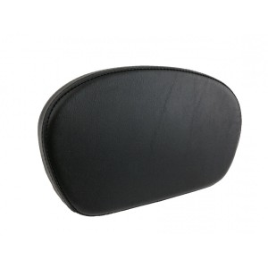 Smooth Passenger Backrest Pad Larger size for Years 1997-2020 HD Touring Models like Street Glide Road King Electra Glide CVO Ultra Limited Sissybar Uprights Like 52627-09A 52427-09A Equivalent to Harley Davidson 52886-98D 98