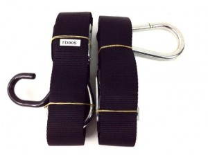"""2"""" TIE DOWN STRAPS CAM BUCKLE WITH EXTENSIONS"""