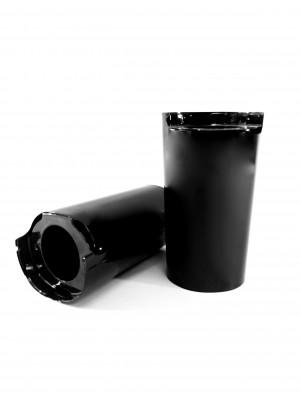 Upper Fork Slider Covers- Gloss Black