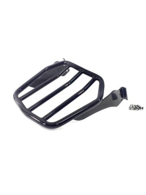 Softail Rounded Bar Wide Rack-Gloss Black