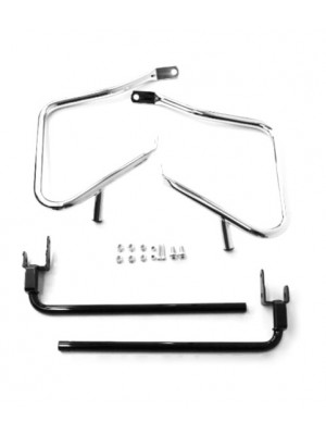 Saddlebag Guard Set -Chrome