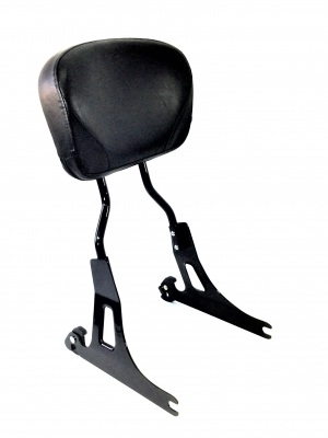 Quick-Release Tall Dyna Backrest-Black